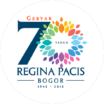 Gebyar 70 Tahun Sekolah Regina Pacis Bogor Logo